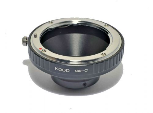 C Mount to Nikon F Lens Adapter